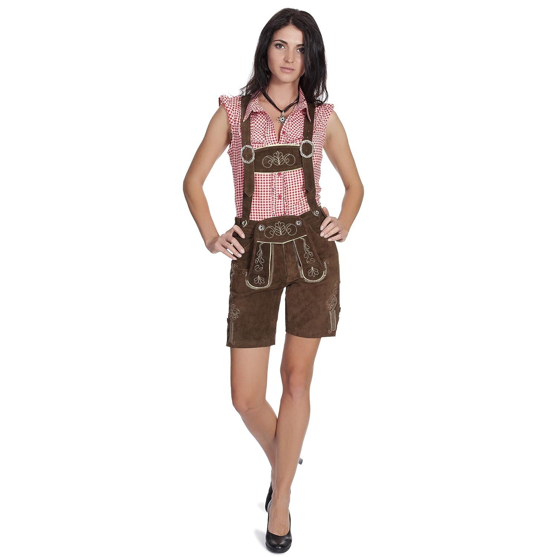 e33f0141bf1fff Oktoberfest Bekleidung - Damen Trachten Lederhose, Super coole ...