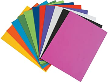 mg eva foam sheet 10 different color a4 size 2mm thickness - Colored Foam