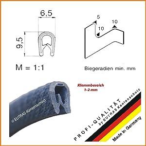 Kantenschutz SCHWARZ 12 mm Kantenschutzprofil Gummiprofil Keder Kederband Länge 50 m  BaumarktKundenbewertung und Beschreibung