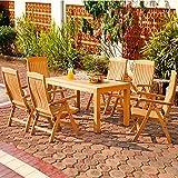 Gärtner Pötschke Sitzgruppe Wimbledon Park, groß (6 Sessel 1 Tisch)