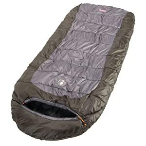 Coleman sleeping bag width=