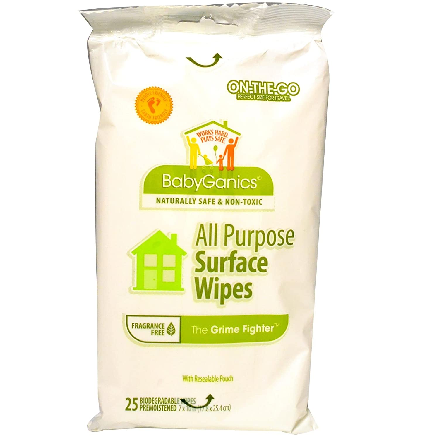 BabyGanics All Purpose Surface Wipes