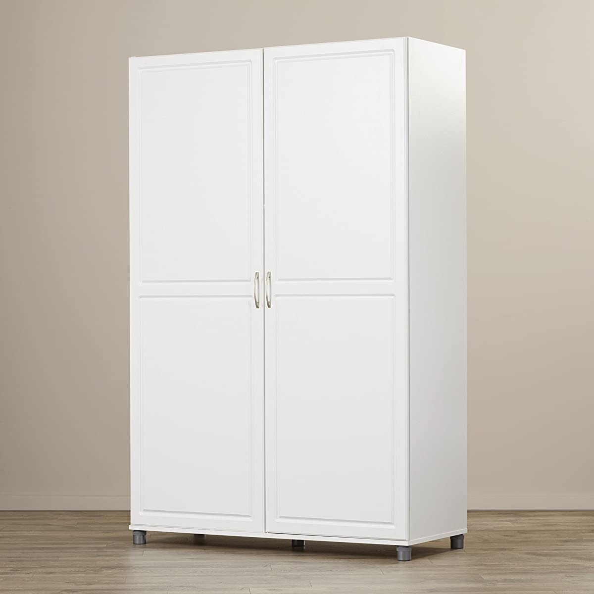 Solid Closet Storage Wardrobe Armoire Cabinet Bedroom