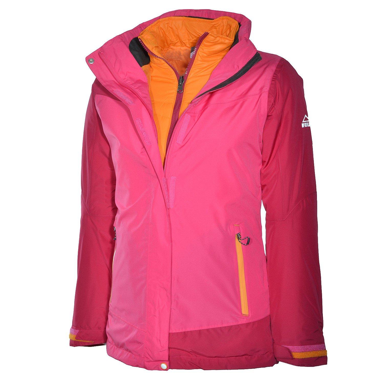 McKinley Kinder Winter Doppeljacke Kids Aracruz 3in1 Jacke Pink/Red Wine Mädchen online bestellen