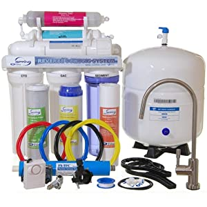 iSpring RCC7AK - Newly Upgraded US Legendary 75GPD 6-Stage Reverse Osmosis System