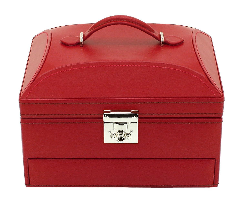 Friedrich|23 Damen-Schmuckkasten Cordoba Leder rot – 26392-4 günstig kaufen