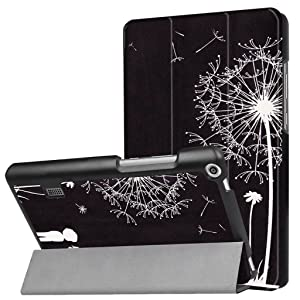 ANGELLA-M for Huawei MediaPad T3 7.0 Case, Ultra Lightweight Slim Tablet Protective Cover with Stand Case for Huawei MediaPad T3 7.0 WIFI (BG2-W09) - LMNH (Color: LMNH)