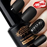 Perfect Summer Matte Top Coat Gel Nail Polish - UV LED Soak Off Top Coat,Manicure Salon Polish,8ml