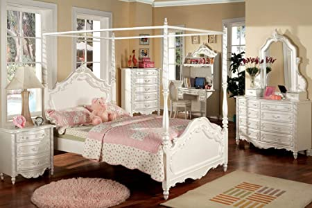 Dresser in Pearl White Finish by Furniture of America # CM7519D