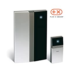 Wireless Doorbell - Award Winning Modern Design By Jacob Jensen. Long Range Door Chime Expandable to Multiple Receivers.