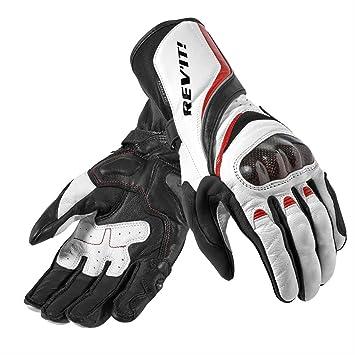 FGS090 - 3200-L - Rev It Xena Ladies Motorcycle Gloves L White/Red