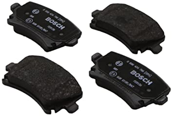 4-teilig Bosch 986424797 Bremsbelagsatz