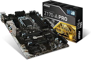 MSI Z170-A PRO LGA 1151 Computer Motherboard