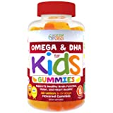 Complete DHA Gummies for Kids by Feel Great 365, Omega 3 6 9 from Algae, Chia, and Coconut Oil, Supports Healthy Brain Function, Vision, and Heart Health in a Dairy Free, Vegan, Chewable Supplement (Tamaño: Kids Omega DHA Gummies - 60ct)