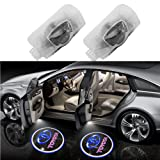 Car Door LED Ghost Shadow Light for Camry/Highlander/4 Runner/Corolla (Tamaño: Toyota(2pcs))