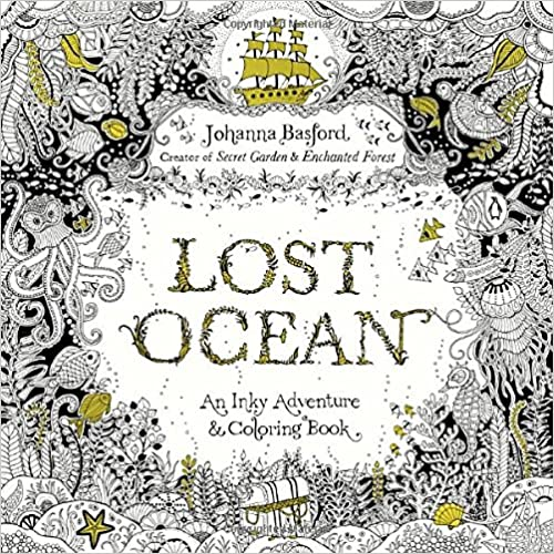 Costco Has Johanna Basford Coloring Books Just Released Her Latest Book Which Is Lost Ocean I Have Been Eying It Recently But Its Also Available