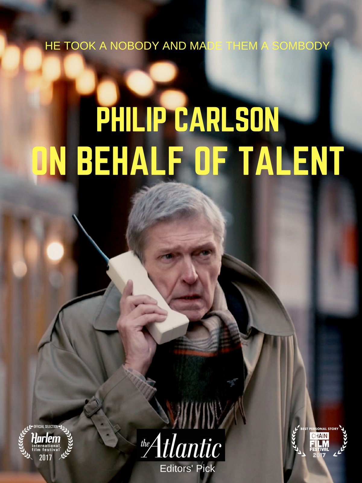 Philip Carlson: On Behalf of Talent