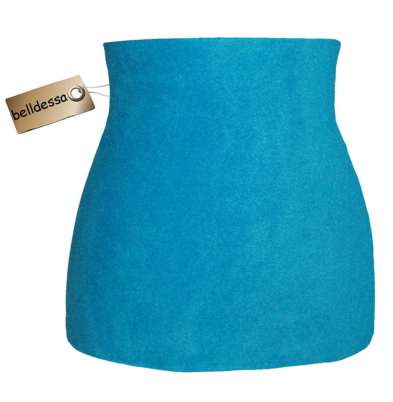 Fleece – Polarfleece – türkis / azur blau – Nierenwärmer / Rückenwärmer / Bauchwärmer / Shirt Verlängerer – Größe: Damen Frauen S – ideal auch für Blasenentzündung und Hexenschuss / Rückenschmerzen / Menstruationsbeschwerden jetzt kaufen