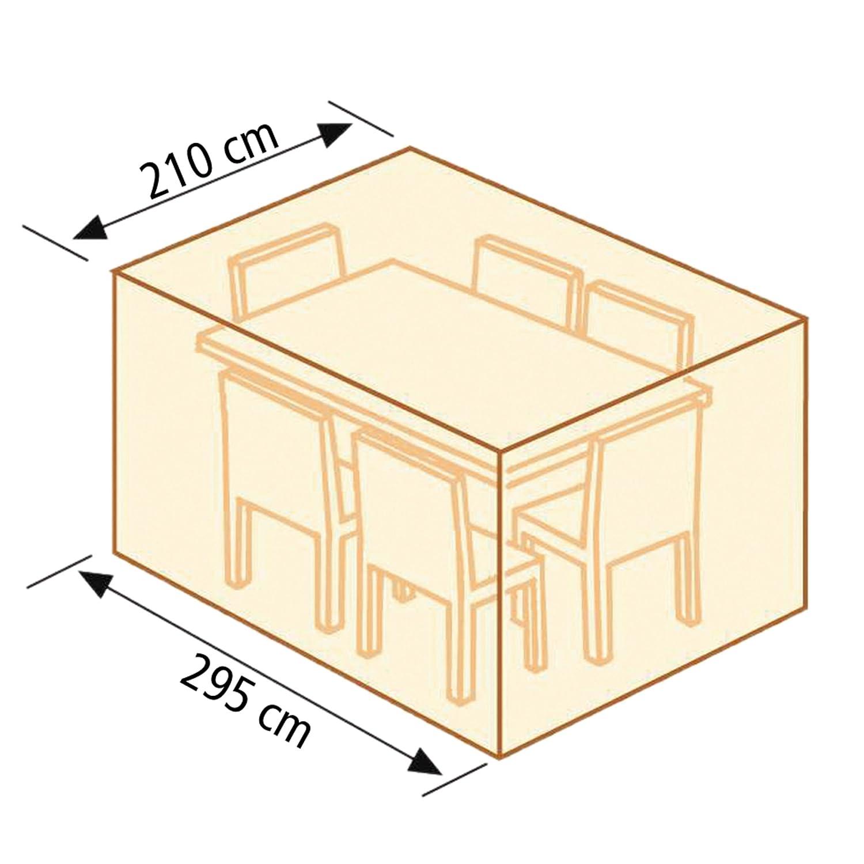 Gr. Tischgruppenhaube LILIE, rechteckig – (22184) bestellen
