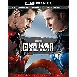 Captain America: Civil War [4K Ultra HD + Blu-ray]