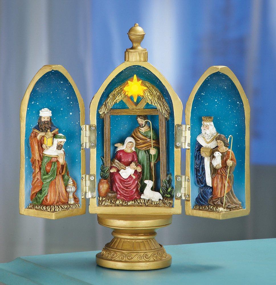 Christmas Nativity Egg Tabletop Decoration
