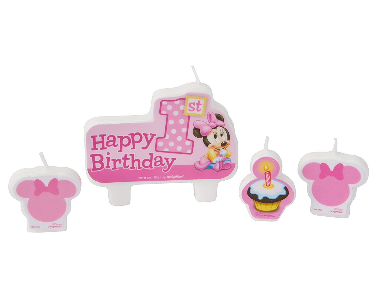 Disney Minnie 1st Birthday Mouse Wallpaper