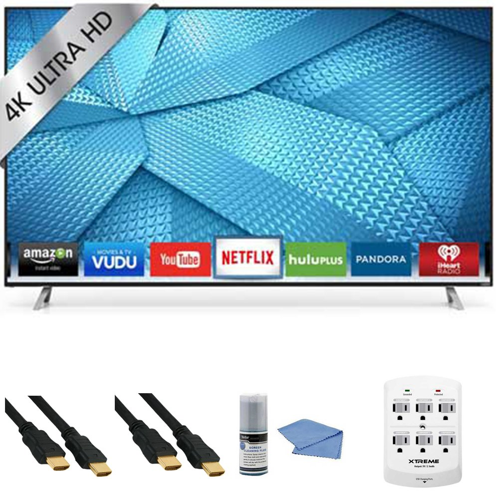 Vizio M60-C3 - 60-Inch 240Hz 4K Ultra HD Smart LED HDTV + Hookup Kit - Includes TV, HDMI to HDMI Cable 6