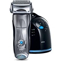 Braun Series 7 Men's Pulsonic Rechargeable Electric Shaver (Silver)