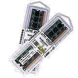 A-TECH 4GB KIT (2 x 2GB) For HP Compaq Desktop 315eu Compaq 500B (Intel Models) 500B Microtower. DIMM DDR3 NON-ECC PC3-8500 1066MHz RAM Memory. Genuine Brand. (Tamaño: 4 Gb)