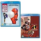 Big Hero 6 - The Incredibles - Walt Disney 2 Movie Bundling Blu-ray