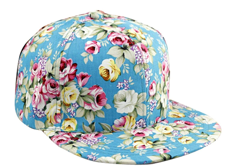 Snapback Caps Floral Floral Flower Snapback