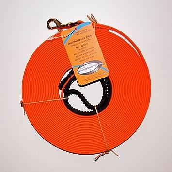 biothane schleppleine orange 12 mm breit 10m dee842. Black Bedroom Furniture Sets. Home Design Ideas