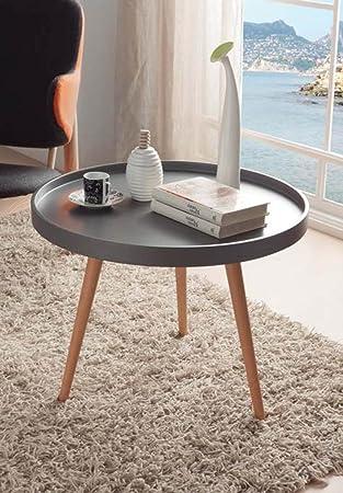 Mesas de Centro de Madera : Modelo GIJON de 60x45x60