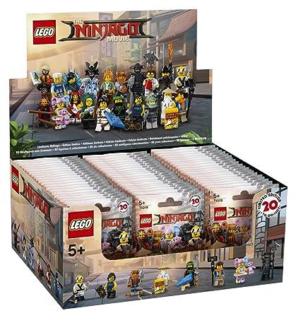 LEGO - 6175016 - Lego Minifigures - Jeu de Construction - Minifigurines Série Ninjago coloris aleatoire lot de 60