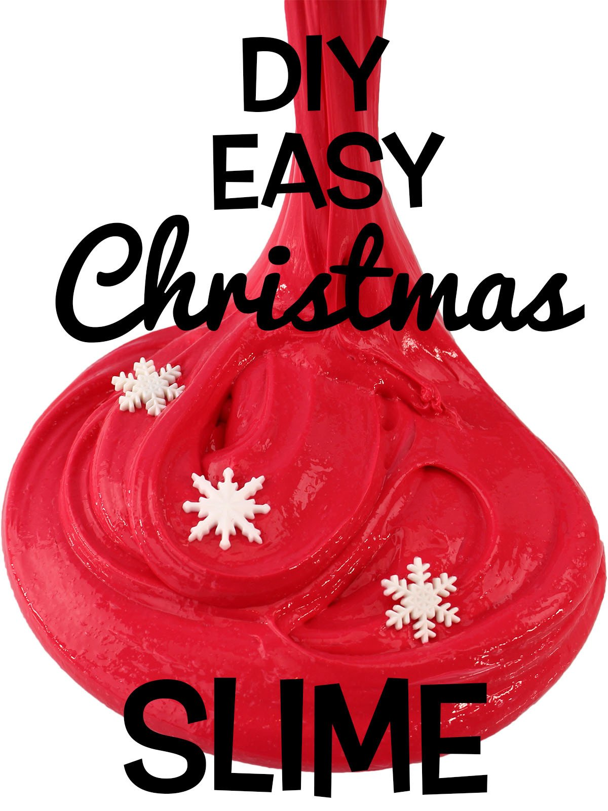 Diy Easy Christmas Slime
