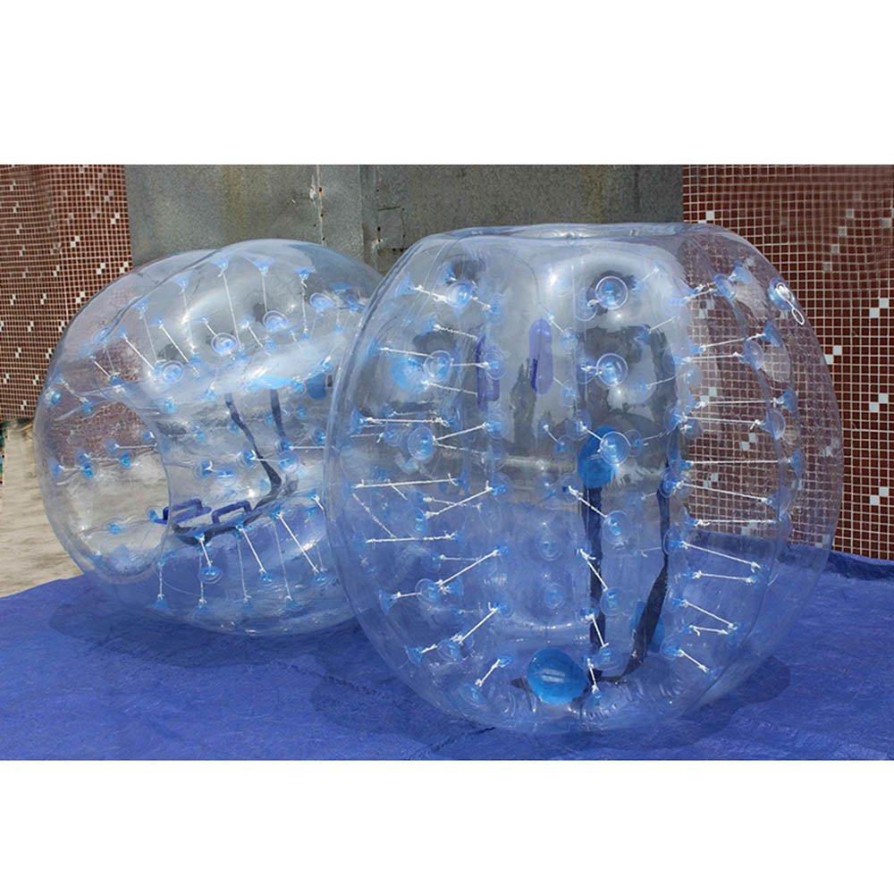 1,5 m Körper Zorb Zorbing aufblasbare menschliche Ball Stoßstange Fußball Bubble PVC (blau) online kaufen