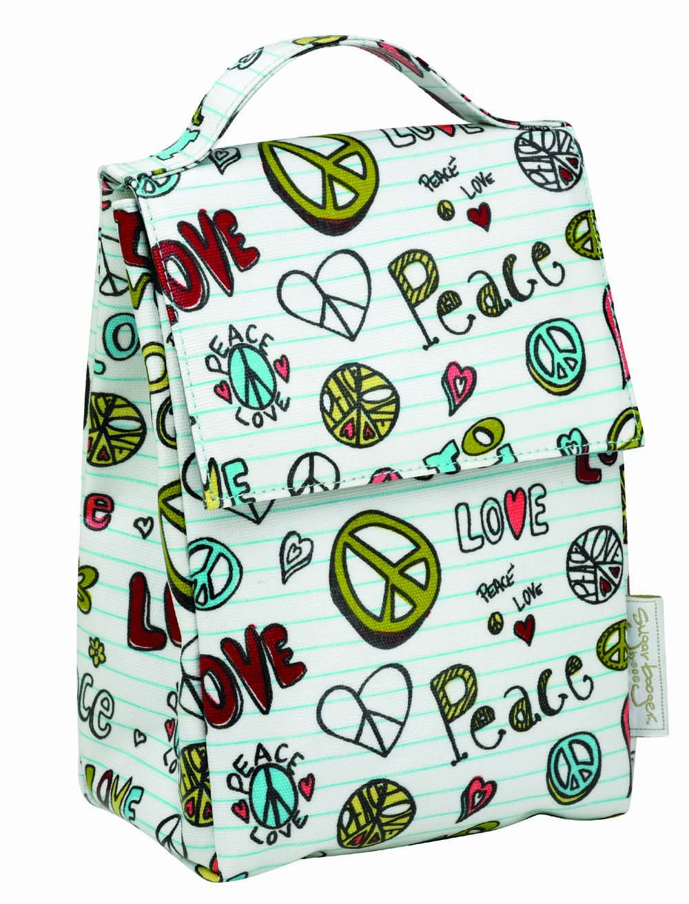 Peace Sign Lunch Box by Sugarbooger