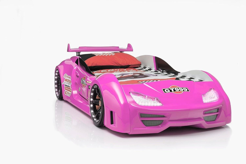 Autobett Gran Torino GT 999 Pink mit Türen und Fernbedienung bestellen