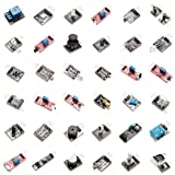 New Model! Ultimate 37 in 1 Sensor Modules Kit for Arduino & MCU Education User