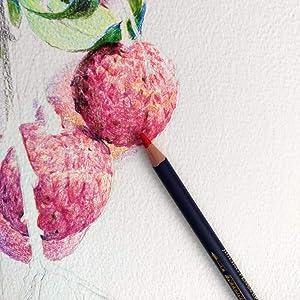 Watercolor Pencils Premium Soft Core Watercolor Pencils 12 24 36 48 72 Lapis de cor Professional Water Soluble Color Pencil for Art School Supplies (36 Color Set) (Tamaño: 36 color set)