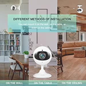 Wansview Wireless Security Camera, 1080P Home WiFi