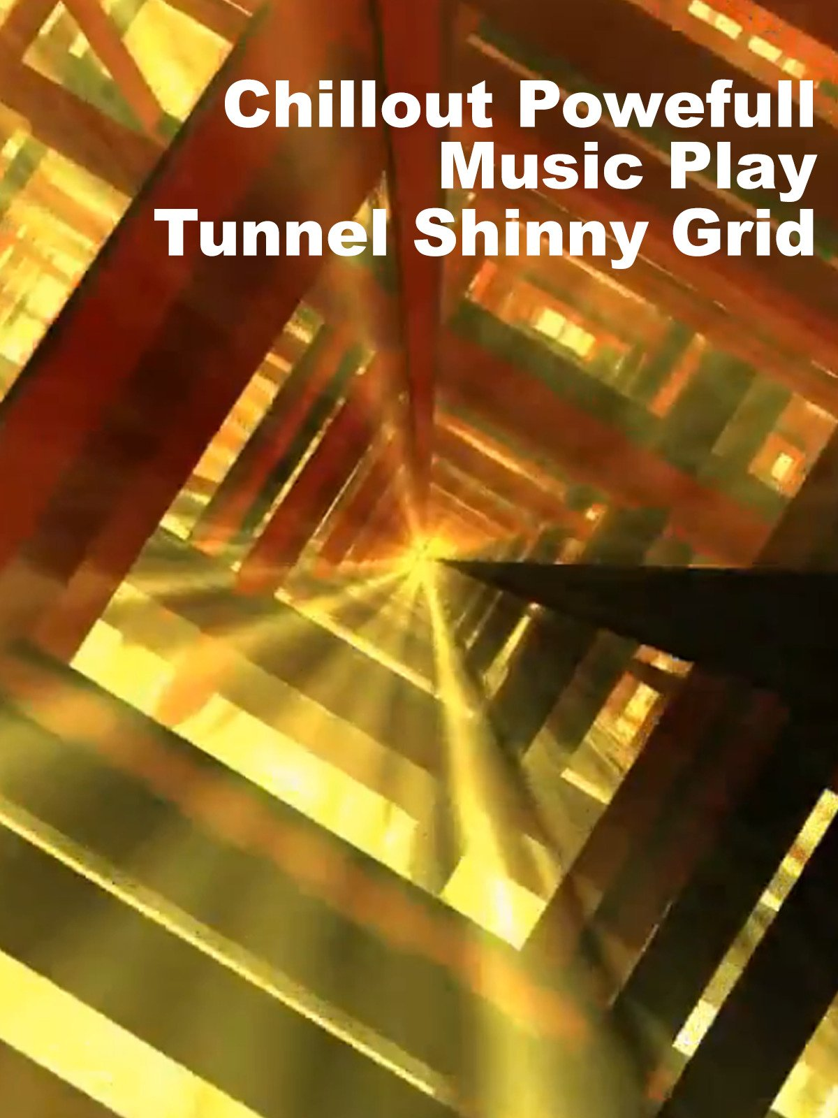 Chillout Powerfull Music Play Tunnel Shinny Grid