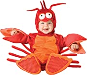 Lil Characters Unisex-baby Infant Lobster Costume, Red/Orange, 12-18 months