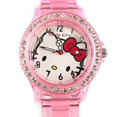 Watch design Hello Kittypale pink