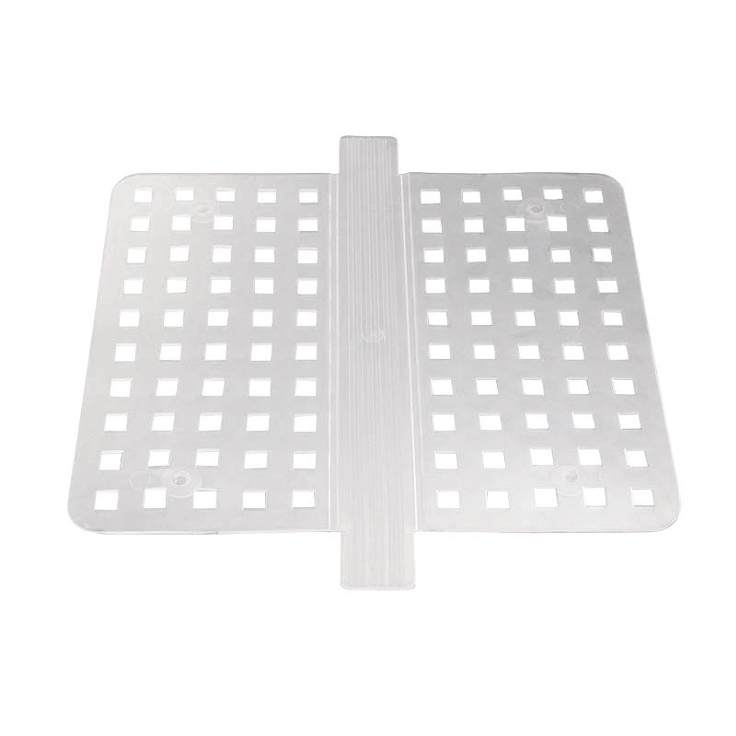 Mat Protector Double Sink Saddle Divider Clear Kitchen