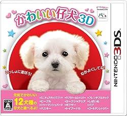 かわいい仔犬3D