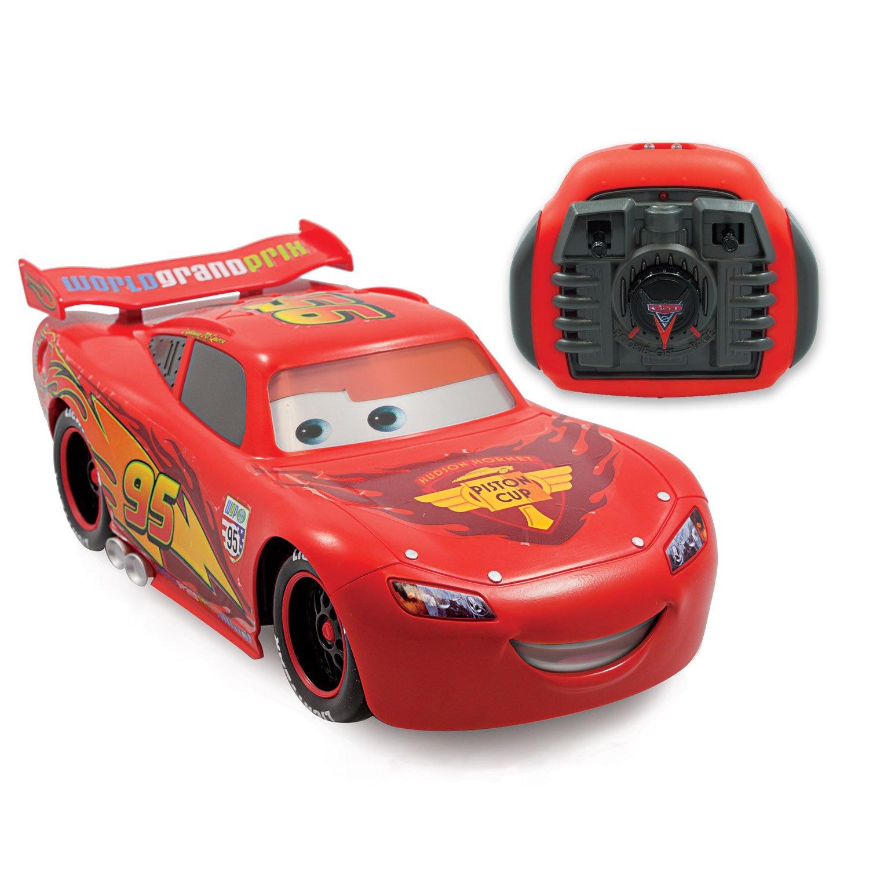 new disney pixar cars 2 r c lightning mcqueen ebay. Black Bedroom Furniture Sets. Home Design Ideas