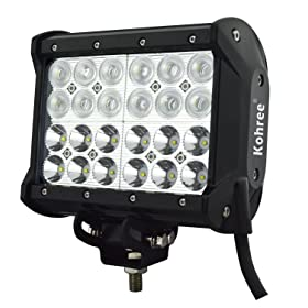 LED headlight conversion kit - Kohree 6.5-inch 72W off road LED