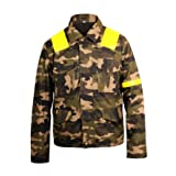 Pilots Twenty Mens 21 One Trench Camouflage Levitate Cotton Jacket (Color: Camouflage, Tamaño: Medium)