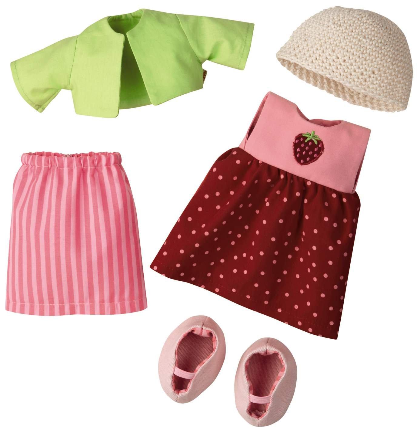 3669 – HABA – Kleiderset Erdbeere, 30cm günstig